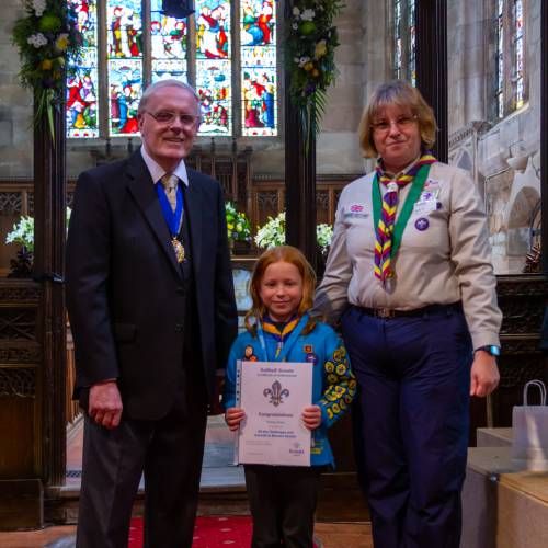 Beaver Scout Achieves all Section Awards
