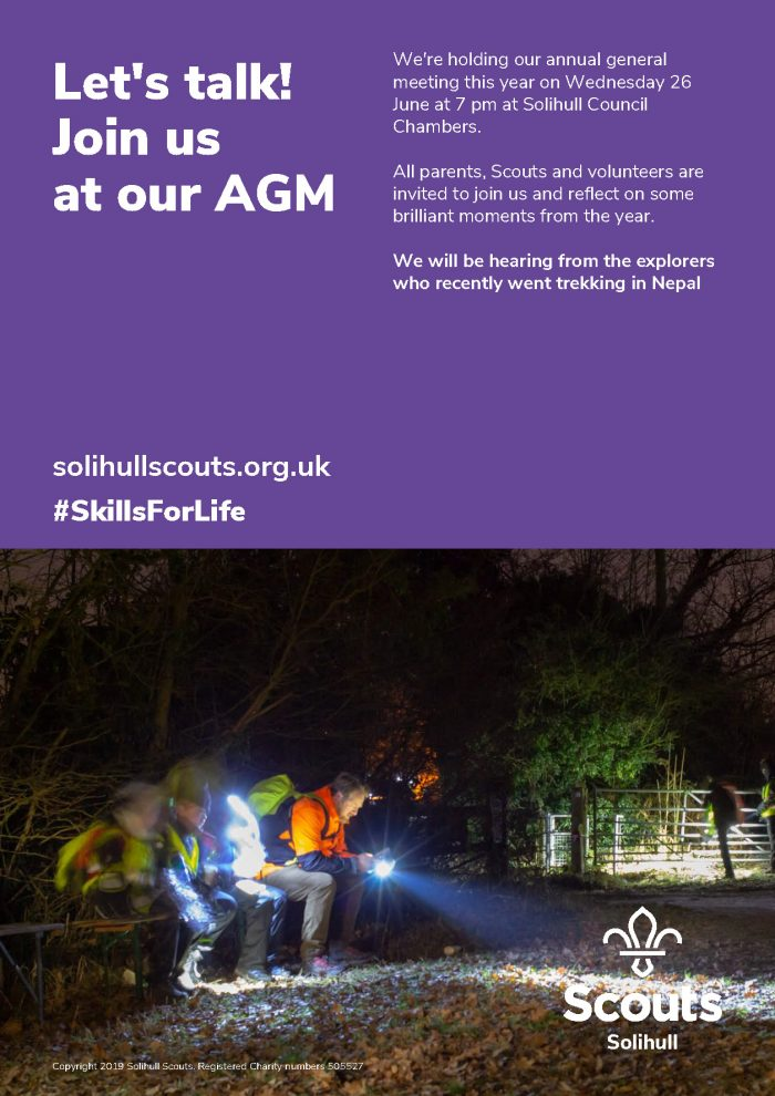 Solihull Scout County AGM