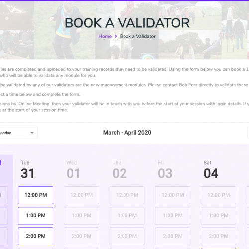 Book a Validator – Now Live